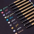 10 шт. 2 мм кончик ручки маркер для поделок DIY Изготовление карт фотоальбом живопись PUO88