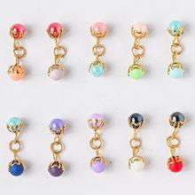 10 шт бусины для ногтей Красота металлические украшения аксессуары