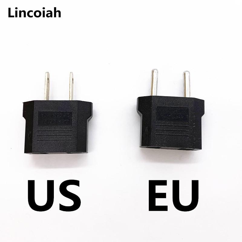 Адаптер штепсельной вилки для преобразования ЕС и США Универсальный зарядный конвертер для путешествий, бытовой 220 В, адаптер питания, адап...
