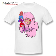 Jem T Shirt And The Holograms T-Shirt 100 Percent Cotton Oversized Tee Classic Short Sleeves Printed Mens Cute Tshirt