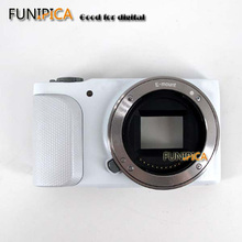 Original Front shell For Sony NEX 3N Front Cover with flex nex 3N Camera repair parts free shipping
