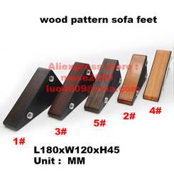 45 мм 180X120 высота диванная подушка деревянные, для ног стальная стена ABS корпус пластиковая напольная Мебель кровать противостояние ноги