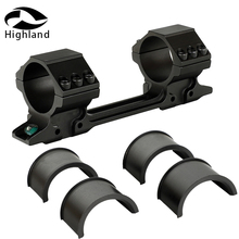 Tactical Hunting Medium Profile Bi-direction 11mm Dovetail Riflescope Rings 25.4mm 30mm Scope Mount W Two Bubble Level