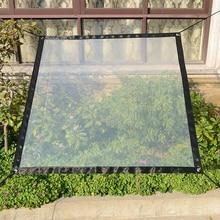 Window Transparent Rainproof Tarpaulin Succulent Plant Insulation Anti-freeze Anti-bird Windshield Tarpaulin Plastic Hot Sale