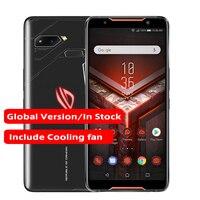 Global version ASUS ROG Phone 6.0 8GB RAM 128GB ROM Snapdragon 845 Octa Core 4000mAh NFC Android 8.1 Dual SIM ZS600KL Phone
