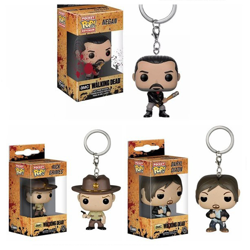funko-pop-font-b-walking-b-font-font-b-dead-b-font-daryl-dixon-rick-grimes-negan-keychain-action-figures-collection-model-toys-for-children-christmas-gift