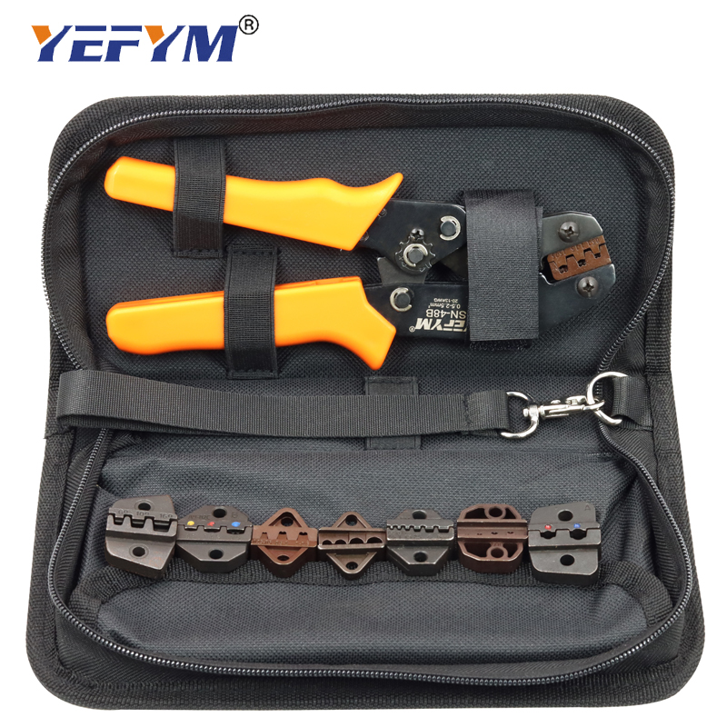 Clearance SalePliers Terminals-Kit-Bag Electric-Clamp Dupont Brand-Tools SN-48B Pulg/tube/Insulation