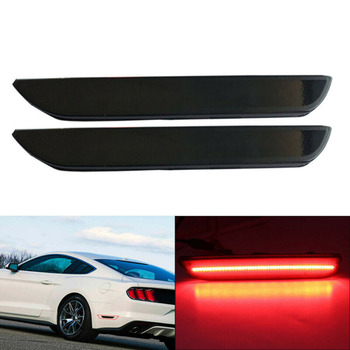 2pcs Side Marker Lights Auto Lamp For Ford Mustang 2015-2019 Accessories