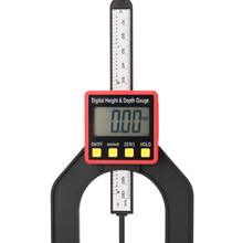 Caliper Measuring-Tools Altimeter-Ruler Depth-Meter Digital-Height 0-80mm Woodworking-Gauge