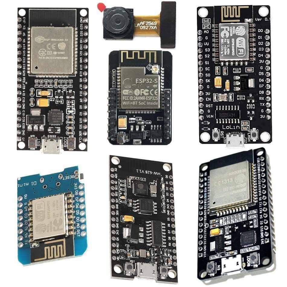 โมดูลไร้สาย NodeMcu V3 V2 Esp32 D1mini Lua WIFI Development BOARD Esp8266 PCB เสาอากาศและพอร์ต USB Esp-12e Ch340 cp2102