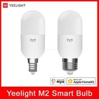 Xiaomi Yeelight M2 LED Intelligente Birne Mesh 4 W 450lm Bluetooth Version Eingestellt Farbe Temperatur E27 E14 Arbeit Für Homekit mihome APP