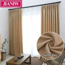 Jianiw мягкая однотонная термоизолированная занавеска для окна