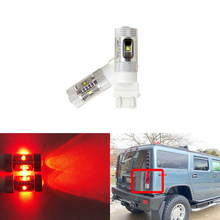 Hummer için H2 2003 2004 2005 2006 2007 2008 2009 çift 3157-SCK 3057 T25 3157 projektör Canbus Led kuyruk fren lambası ampuller