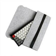 Funda protectora para teclado mecánico, funda portátil a prueba de polvo para 60, 68, 87, 104 teclas, GK61, SK64, GH60, POKER, filtro DUCKY