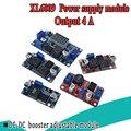 XL6009 4A повышающий преобразователь, Регулируемый 15 Вт, от 5-32 В до 5-50 в, Φ модуль питания, высокая производительность, низкая пульсация