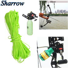 20/60/100Meter Archery Compound Bow Hunting Fishing Rope Spincast Reel Line Recurve Shooting Fish Tools Camping Accessories