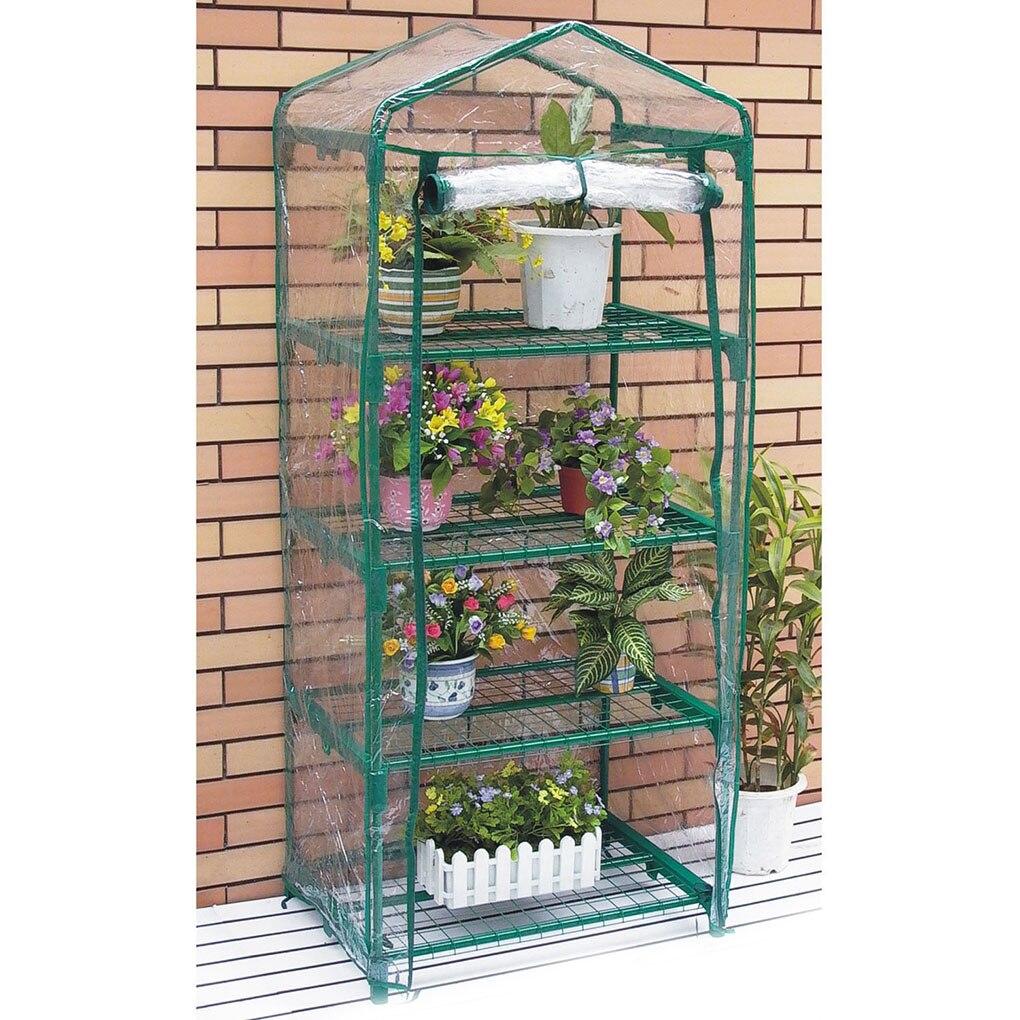 Садовая теплица крышка растительного цветка для роста дома теплоудерживающая Прозрачная ПВХ водонепроницаемая крышка|Тенты для выращивания|   | АлиЭкспресс