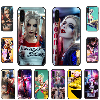 Joker Movie Quinn Phone case For Samsung Galaxy A 3 5 8 9 10 20 30 40 50 70 E S Plus 2016 2017 2018 2019 black soft back luxury image