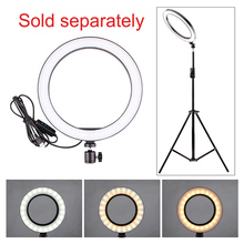 cz stock Photography Ring Light Mini LED Selfie Lamp Studio Photo Lighting Fill Light 160/260MM with 3 Options Light Stand