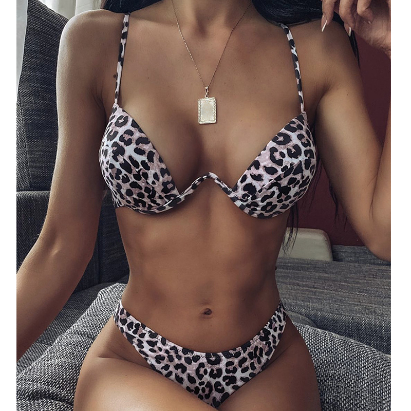 Misswim Sexy Micro Push Up Bikini Set 2020 Pink Neon Swimsuit Female Underwire Swimwear Women Bathers Bathing Suit Swimming Suit