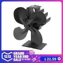 4-Лопастной вентилятор для печи, работающий от тепловой энергии для дерева/камин-Eco