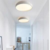 Lámpara de panel led blanca fría moderna para techo 23/35CM 12/18W paneles de techo led para dormitorio/salón lámparas de habitación lámpara de techo|Luces para el techo| |  -