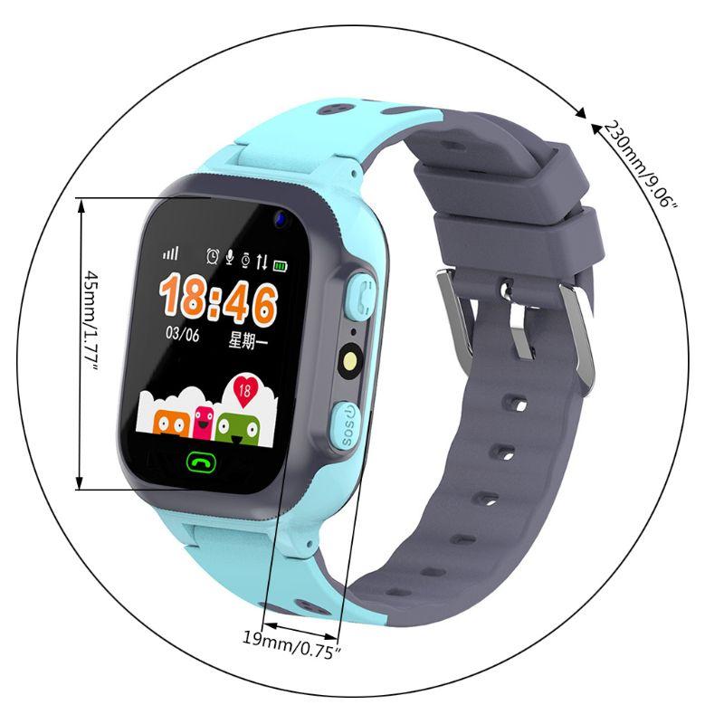 Купить с кэшбэком Z1 Smart Watch for Kids LBS Tracker SmartWatch SOS Call for Children Anti Lost Monitor Baby Wristwatch for Boy girls