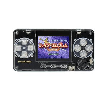 Powkiddy A66 Retro przenośna konsola do gier wbudowana 4000 gry przenośne Mini kieszeń odtwarzacz do gier z 2 cal wyświetlacz LCD tanie i dobre opinie CN (pochodzenie) 2 0 inch Game Console