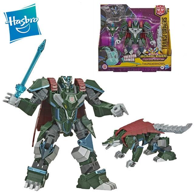 NEW Hasbro Transformers Bumblebee Cyberverse Adventures Ultra Thunderhowl 18cm Action & Toy Figures E7110 1