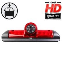 HD 3rd Brake Light Rear Reverse Backup Camera for Van Citroen JUMPER III / Fiat DUCATO X250 / Citroen Relay Peugeot BOXER III