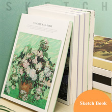 Painting Book Paper Drawing MINKYS Thickened Graffiti School Sketch 120-Sheets Office-Stationery