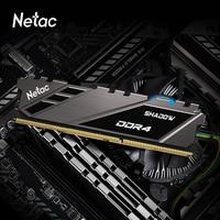 Netac Memoria Ram DDR4 3600mhz DDR4 8 gb pamięci Ram moduły przetaktowywanie komponenty komputerowe wsparcie płyty głównej Intel XMP