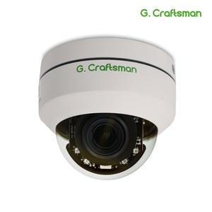Image 1 - Telecamera IP POE Mini PTZ da 5mp Dome H.265 Indoor 2.8 12mm 4X Zoom ottico IR 45M P2P CCTV sicurezza Onvif impermeabile G. Artigiano
