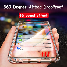 6D sound effect ShockProof Silicone TPU Case For Samsung Galaxy Note 10 Pro S10 5G S10 Plus A10 A30 A50 A60 A70 S9 S8 Clear Case shockproof armor case for samsung galaxy note 10 pro s10 5g s10 plus a30 a50 a60 a70 leather silicone case s9 s8 note 9 cases