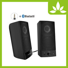 Alto-falantes do computador de bluetooth do desktop de avantree, sem fio & prendido 2-em-1, áudio estereofônico soberbo, ac alimentado 3.5mm/multimídia rca(China)