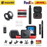 Insta360 EIN R Insta 360 4K 5,7 K Action Kamera Twin Edition 4K Edition und LEICA Objektiv Edition