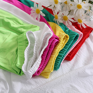 Image 5 - CUHAKCI Women Shiny Pant Leggings Hot Selling Leggings Solid Color Fluorescent Spandex Elasticity Casual Trousers Shinny Legging
