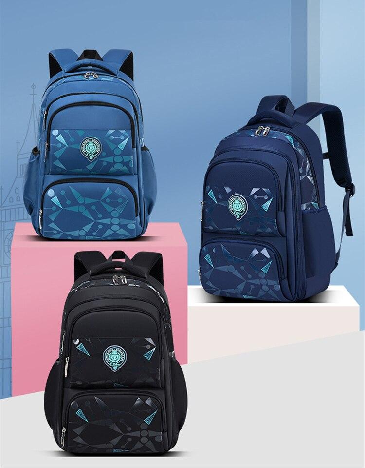 água sacos de escola para meninos mochila