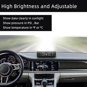 Image 4 - SINOVCLE Car TPMS Tire Pressure Alarm Monitor System Internal / External Tire Temperature Sensor Wireless Pressure Sensor
