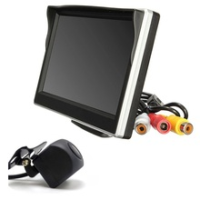 Car Monitor 5 Inch 800*480 Screen 2 Way Video Input Car monitor for backup camera