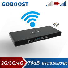 GOBOOST GSM 2G 3G โทรศัพท์มือถือ850 Repeater สัญญาณ LTE FDD 1800 700 800 MHz Cellular Amplifier B28 b20 Booster 2020ใหม่