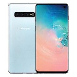 Samsung S10 G973U оригинальный мобильный телефон Snapdragon 855 Octa Core 6,1 дюйм. 16MP & 12MP