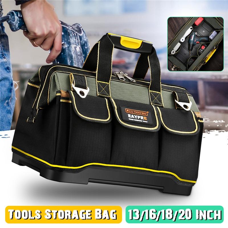 13 16 18 20 Inch Tools Storage Waterproof  Bag Tool Bag Electrician Tools Carpentry Repair Portable Storage Organizers Box