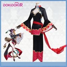 DokiDoki-R игра Fate Косплей Shuten Douji китайский Зомби костюм Fate/Grand Order Косплей Костюм Женский Хэллоуин