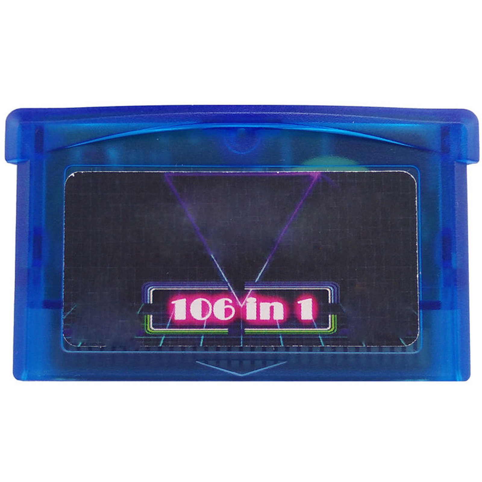 For GBA SMS 106 in 1 Game card For Sega Master System for Game Boy Advance SP NDS Multicart Games Accessories image