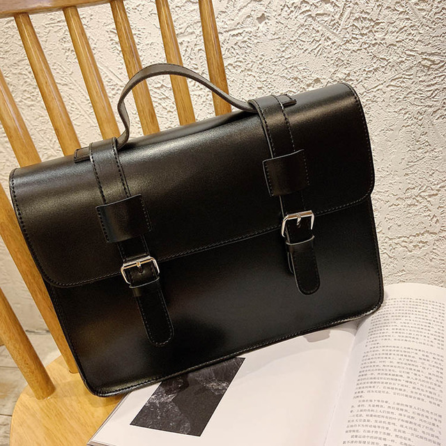 Luxury Women Crossbody Bag Female 2019 New Korean Fashion Shoulder Bag Ladies Trend big Buckle Messenger Bag Handbag