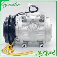A/C AC compresor de refrigeración de aire acondicionado de la bomba de 10P13C 24V para Toyota Hino Ranger 447100 6790  447200 7150  447200 7152  88310 1650|Ventiladores y kits|Automóviles y motocicletas -