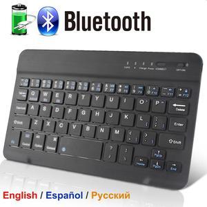Bluetooth Keyboard Wireless Keyboard Mini Keyboard Wireless for PC Phone iPad Rechargeable Noiseless Keyboards Bluetooh