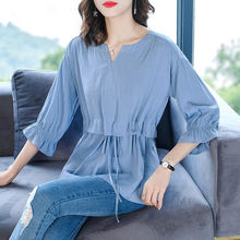 Fashion Women Spring Summer Style Blouses Shirt Lady Casual