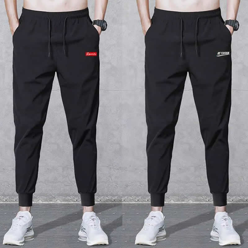 2019 Autumn Men Joggers Male Trousers Casual Pants Sweatpants Jogger Black Casual Elastic Cotton GYMS Fitness Workout Plus 5XL